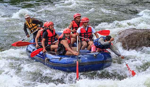 White Water Rafting Kithulgala